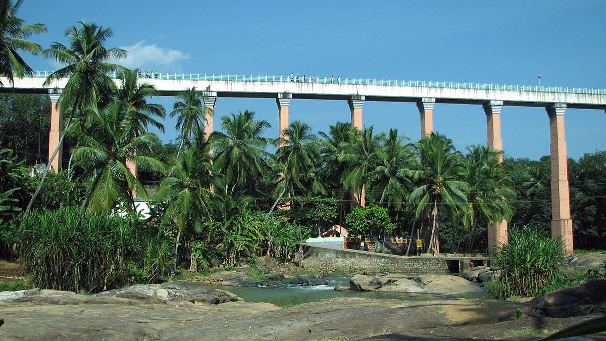 Mathoor Hanging Bridge